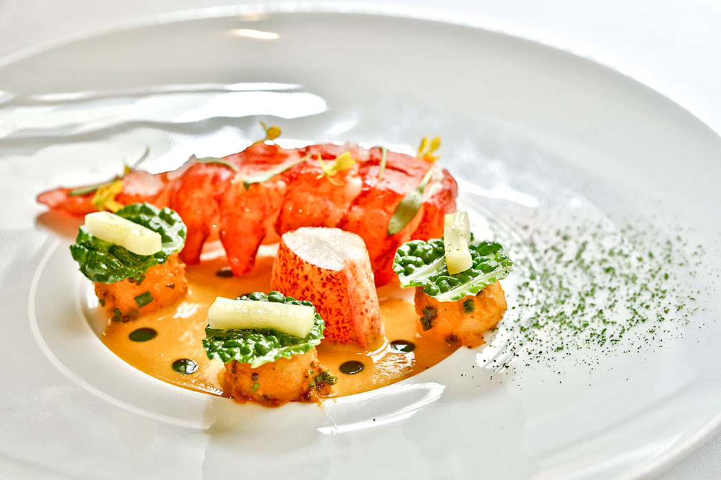 Lobster at Campton Place
