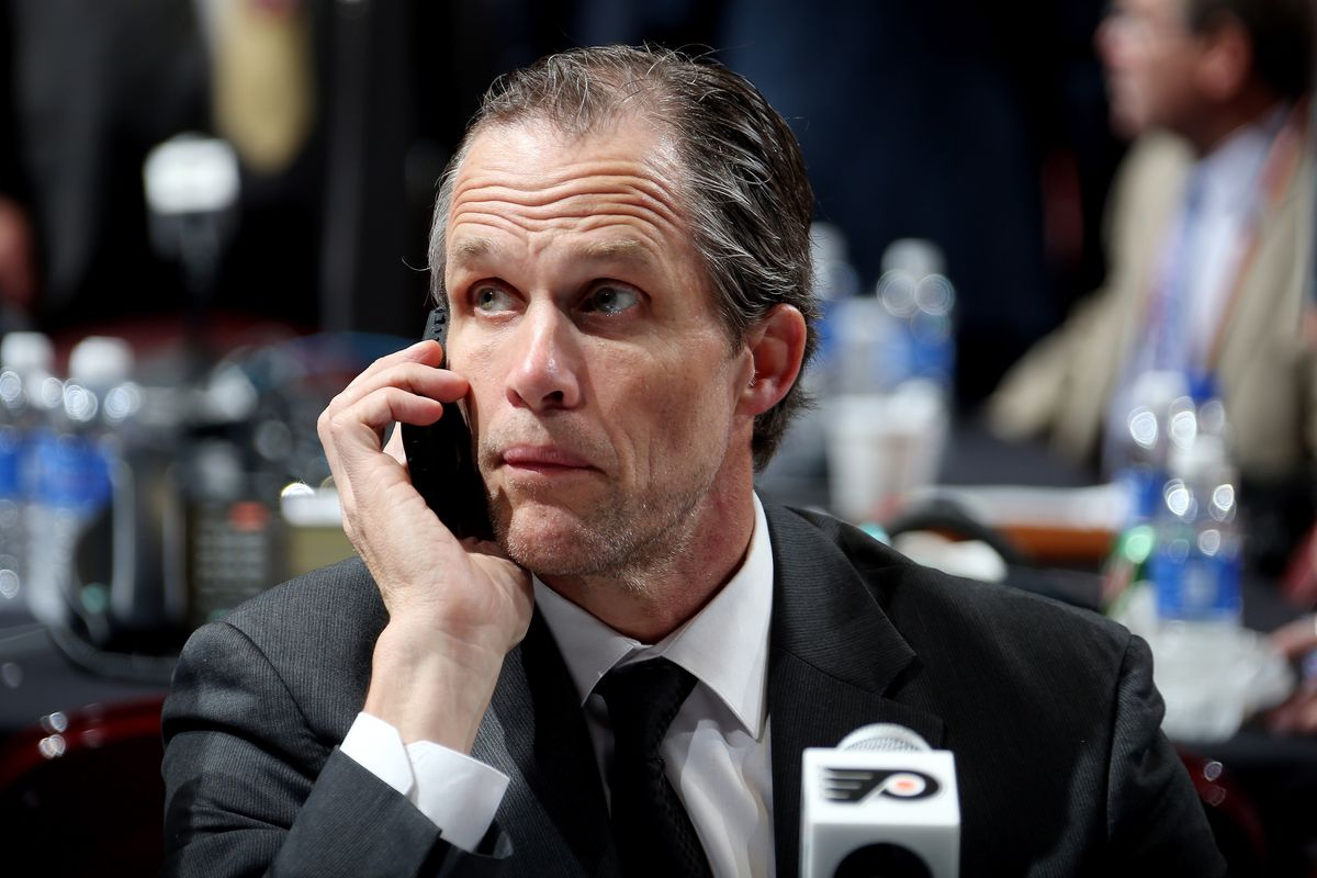 """""""YEAH HI CHRIS FROM SOUTH PHILLY CALLING IN FIRST TIME LONG TIME. GOOD BUNCHA PROSPECTS WE JUST DRAFTED, EH? I'LL HANG UP AND LISTEN."""""""