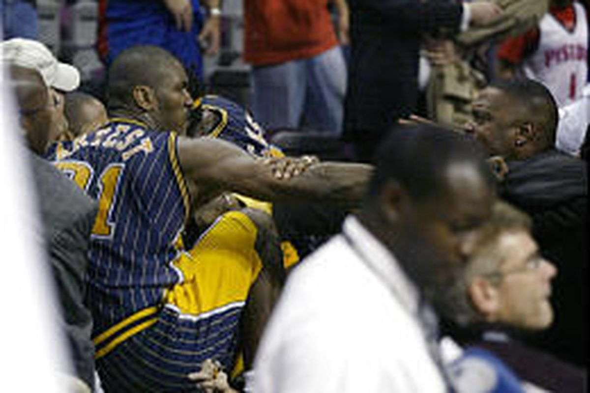Nba Suspends Pacers Artest For Rest Of Season Deseret News
