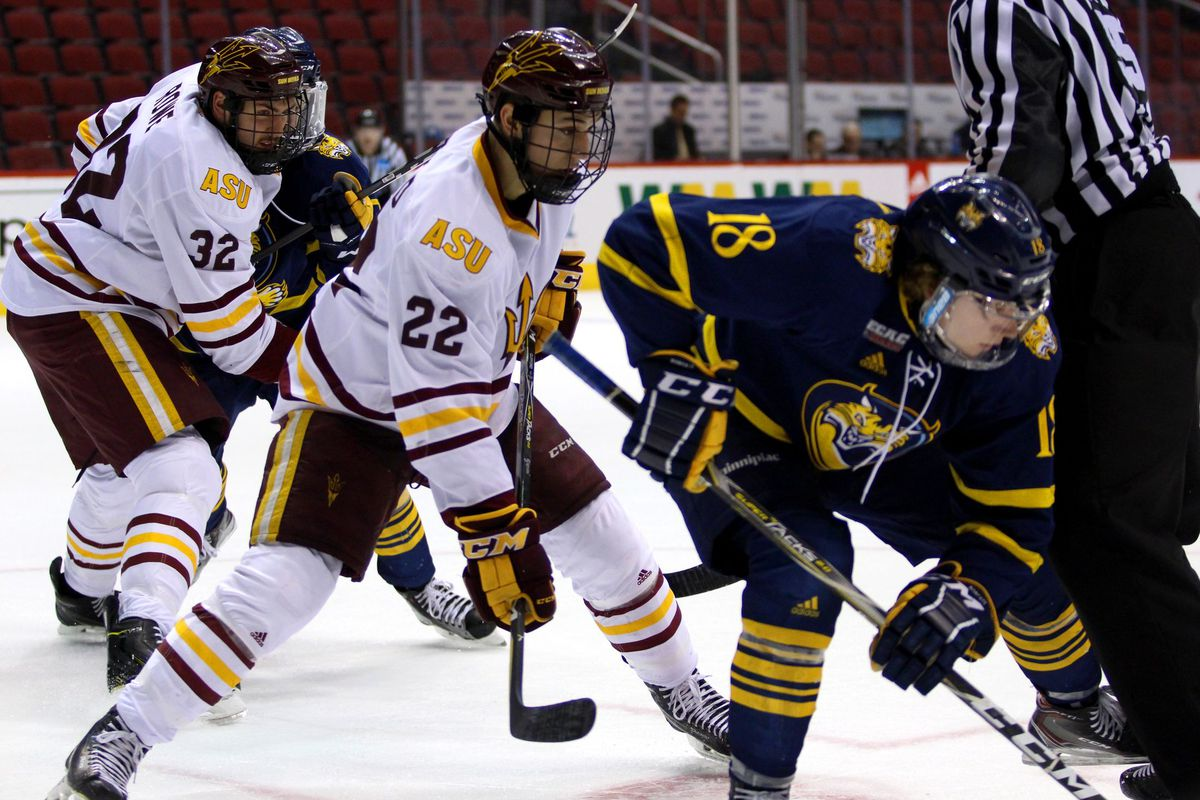 asu hockey: clifford is creating memories, embracing senior season