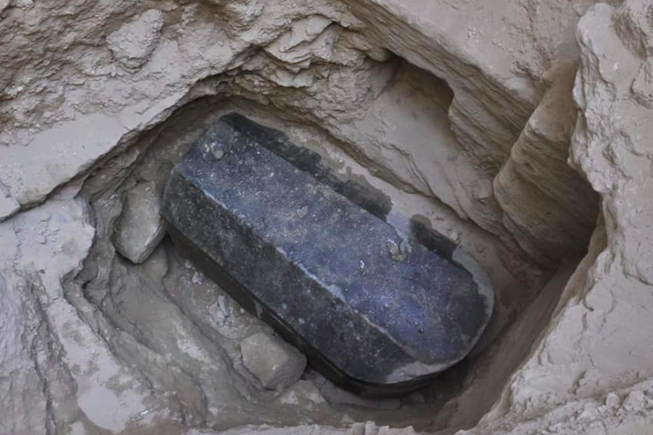 26 arguments for and against opening egypt s new mystery sarcophagus