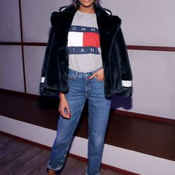 2/15: Attending the Tommy Hilfiger Fall 2016 presentation. Photo: Neilson Barnard/Getty Images