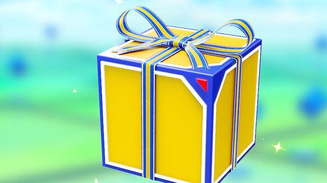 A present in Pokemon Go.
