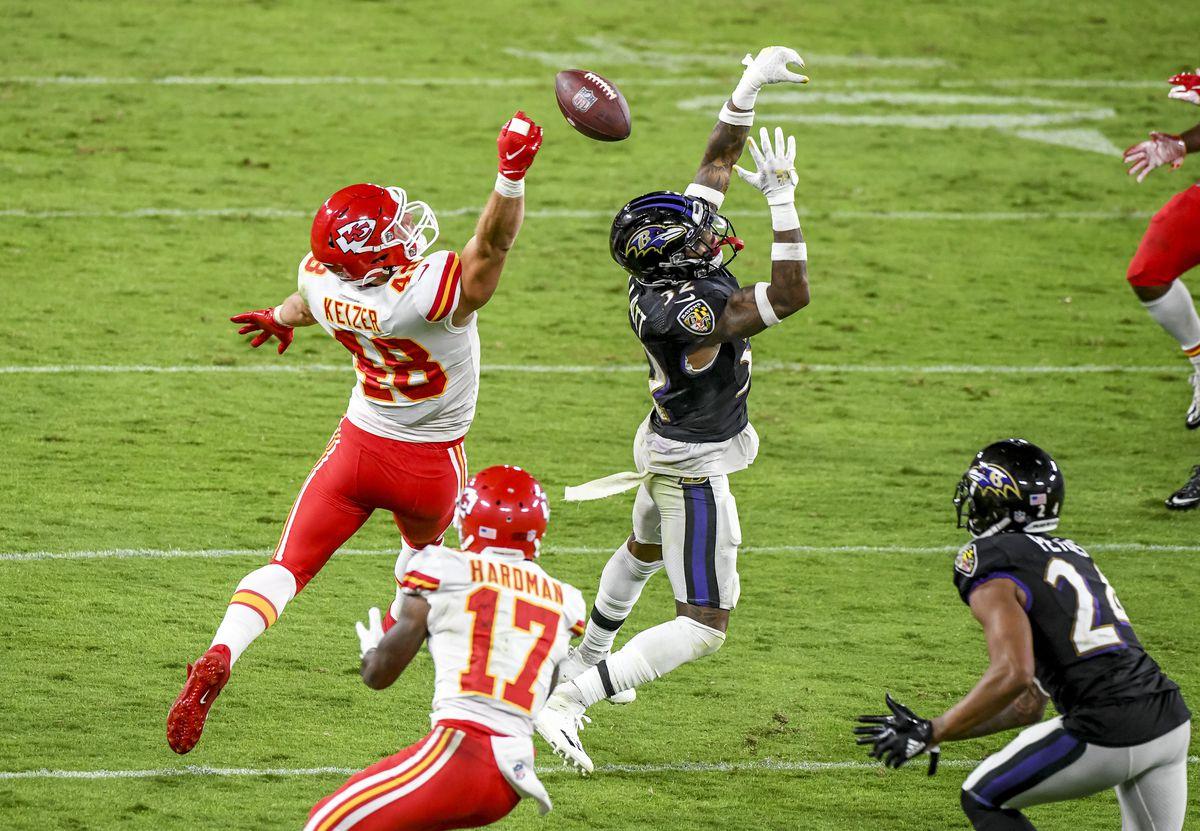 NFL: SEP 28 Chiefs at Ravens