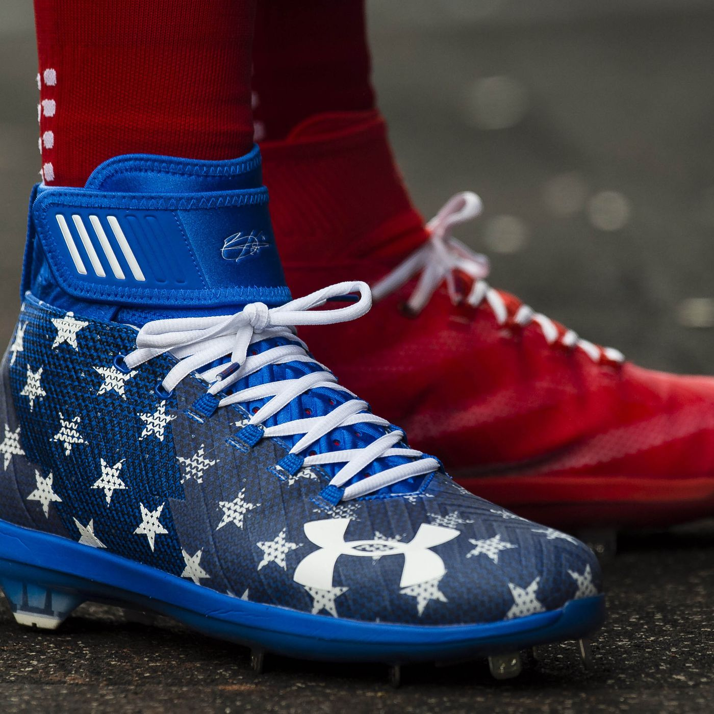 de3ca5aaeee0 Bryce Harper s 4th of July cleat game is on point - Federal Baseball