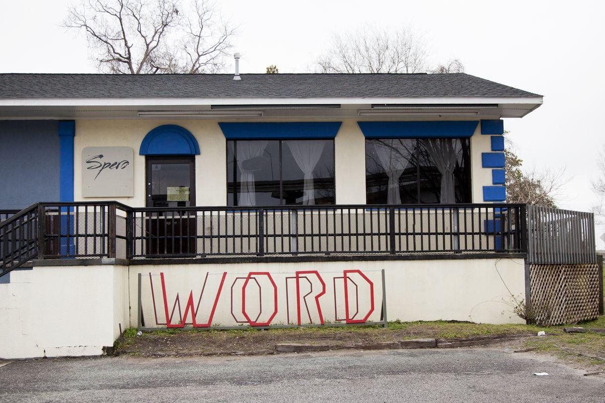 The unassuming exterior of Spero. Word.