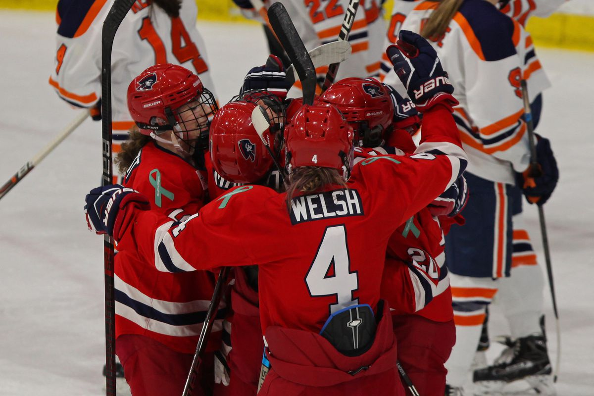 reputable site 85f96 6a76b NCAA Year in Review: Robert Morris and Syracuse - The Ice Garden