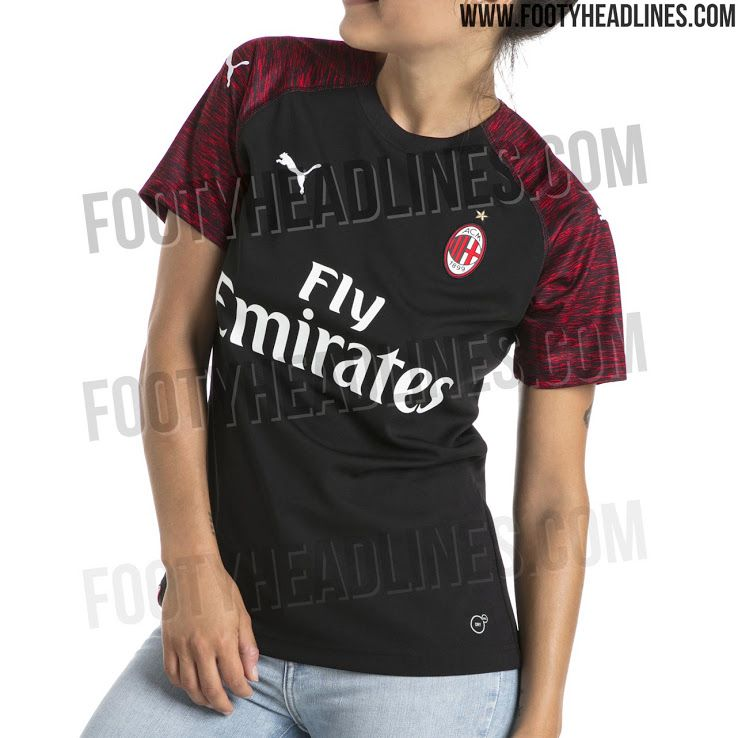 sale retailer fc6f6 1f60f Report: New Puma AC Milan Jerseys for '18-'19 Leaked - The ...