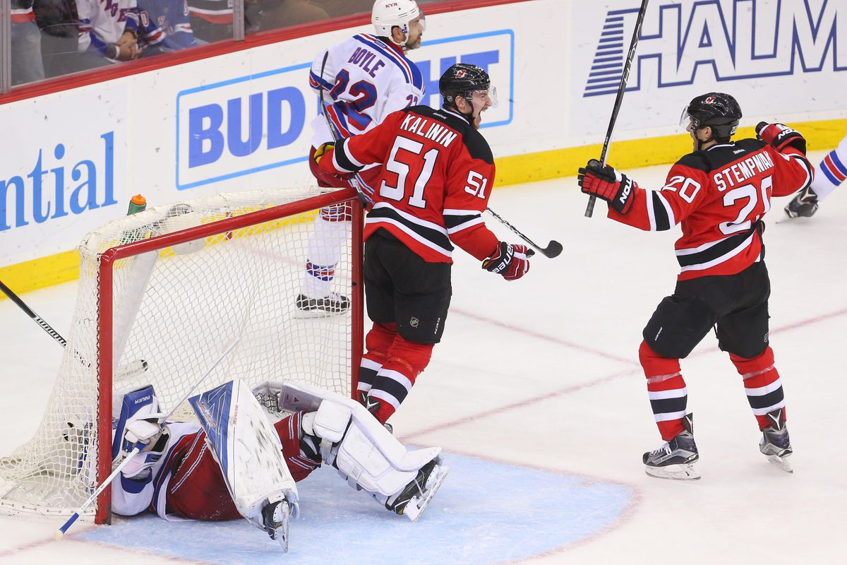 The Devils beat the Rangers three times this season.  Alas, they were the only opponents the Devils did well against within their division this season.