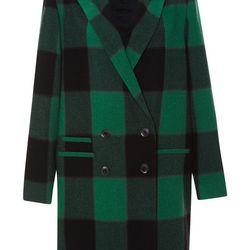 "Sea plaid overcoat, <a href=""http://owennyc.com/shop-women/women/women-jackets/sea-aw14-25-overcoat-plaid-overcoat-greplaid.html"">$795</a> at Owen"