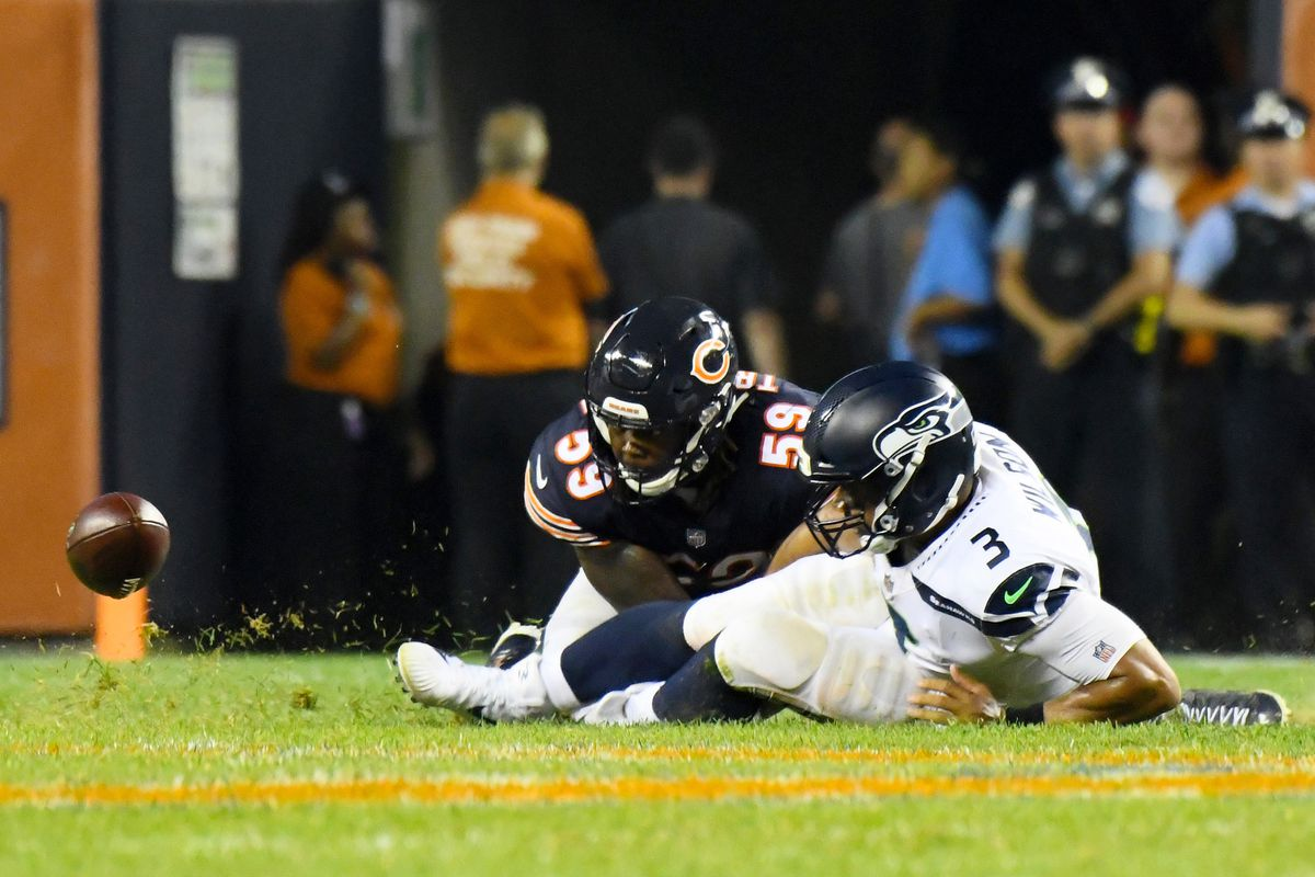 NFL: Seattle Seahawks at Chicago Bears