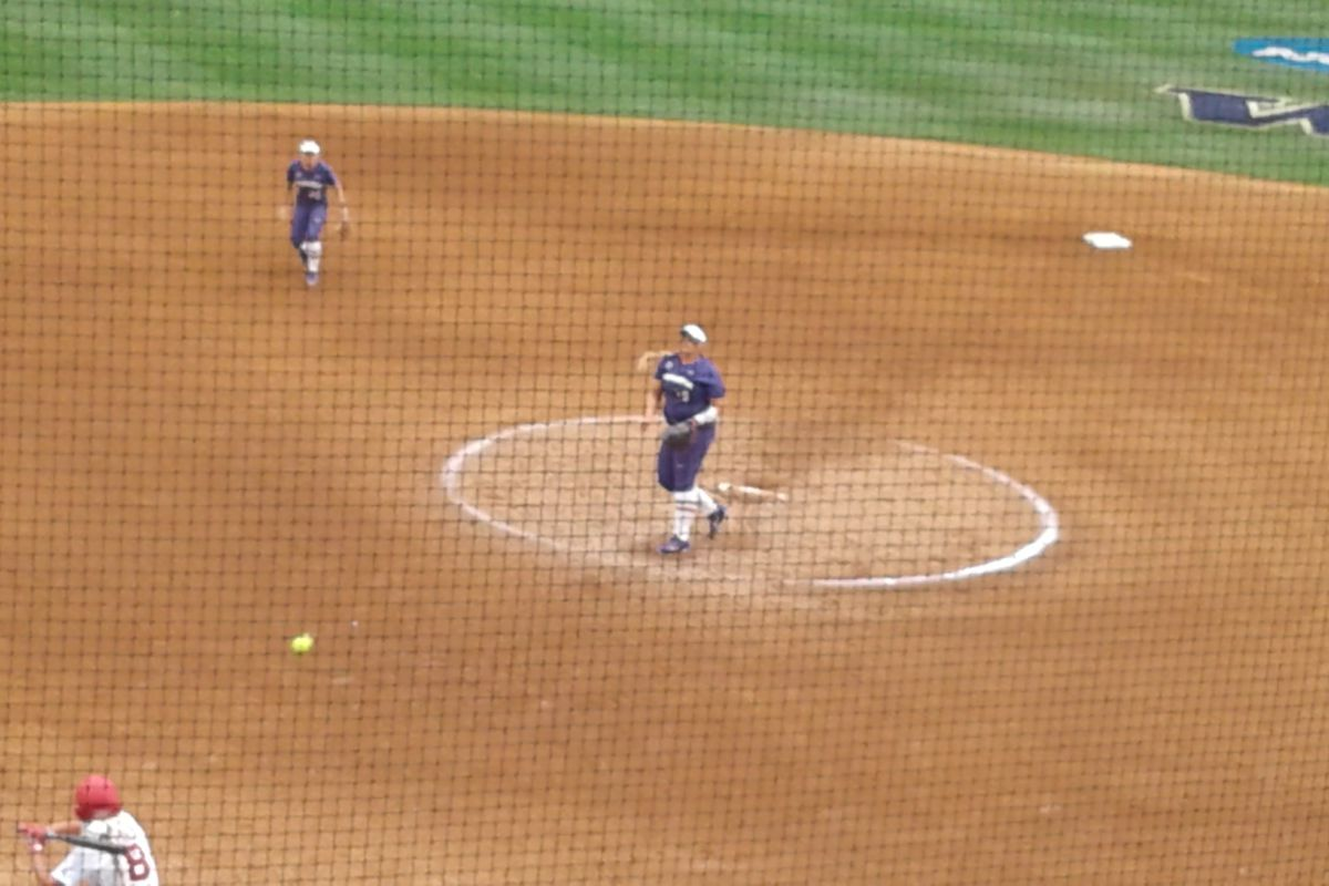 Husky Softball Notebook: Illegal Substitution - UW Dawg Pound