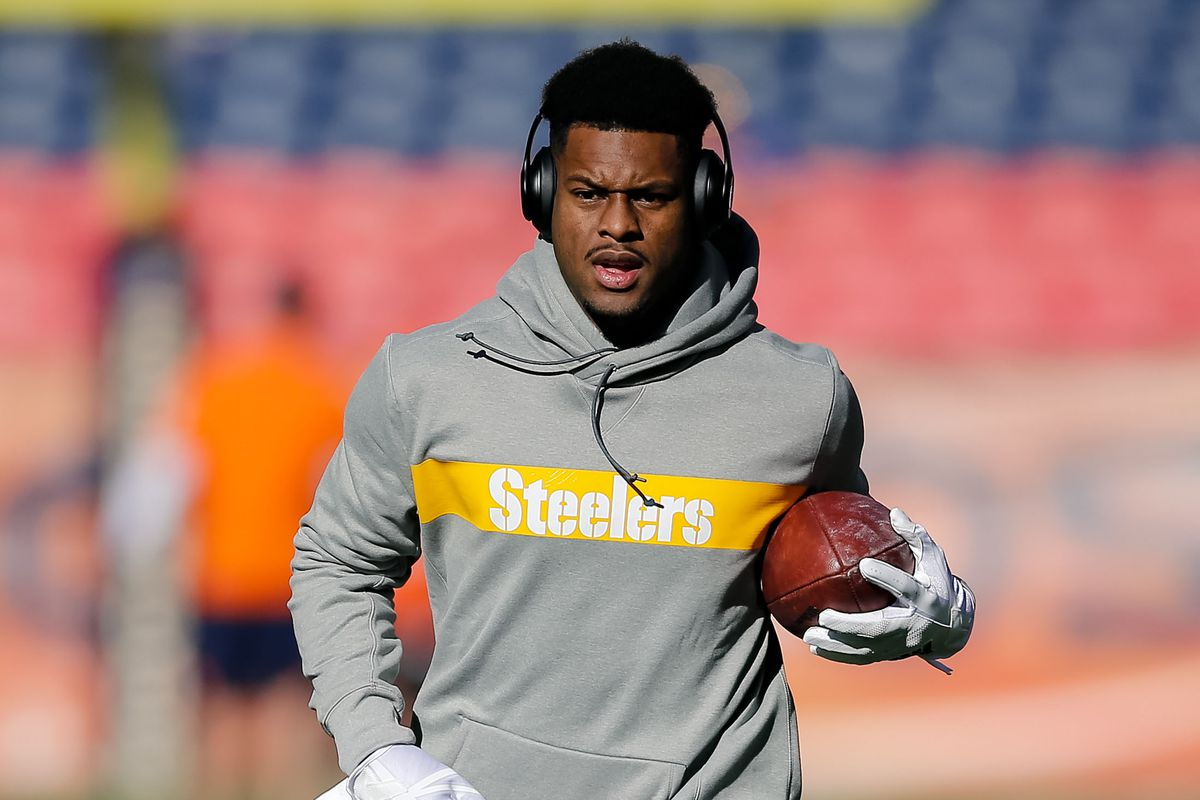16aa3961d Steelers Injury Report  James Conner sits out practice as JuJu Smith- Schuster is limited