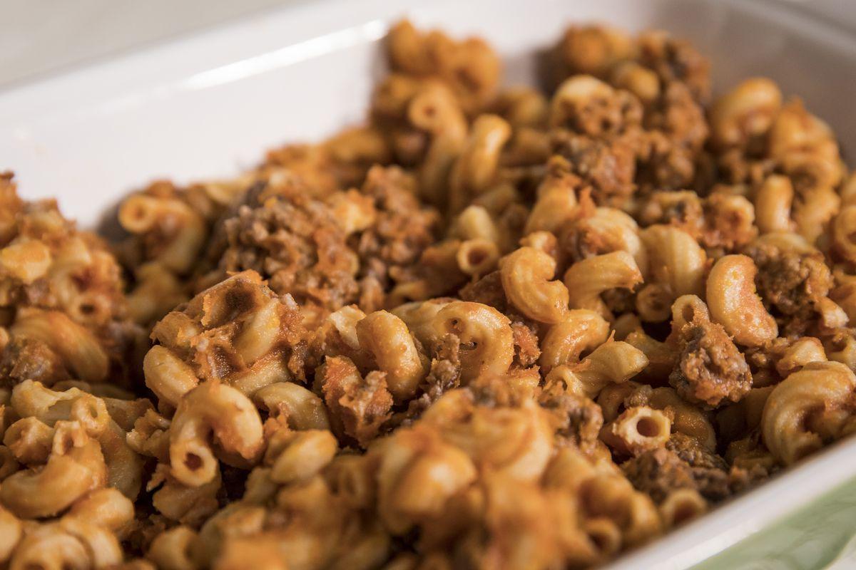 Larry's favorite beef and noodles dish.   Ashlee Rezin/Sun-Times