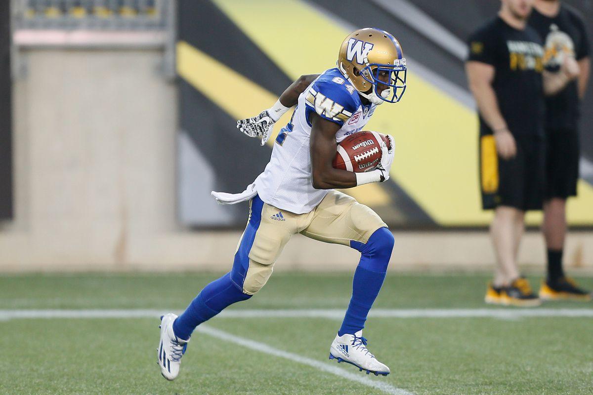 CFL: Winnipeg Blue Bombers at Hamilton Tiger-Cats