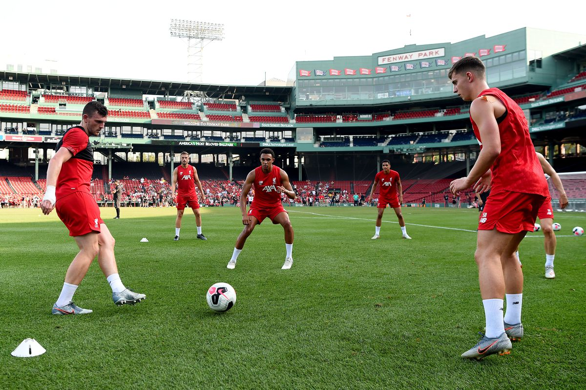 Liverpool FC Open Training Session