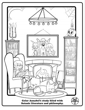 This Is What A Satanist Coloring Book Looks Like Vox