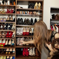 YSL Tributes and Louboutins galore.