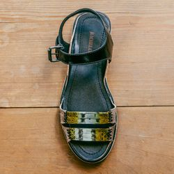 """<b>Rachel Comey</b> Rio Two-Strap Flat Sandal, <a href=""""http://shopbird.com/product.php?productid=28716&cat=697&manufacturerid=&page=1"""">$445</a>"""