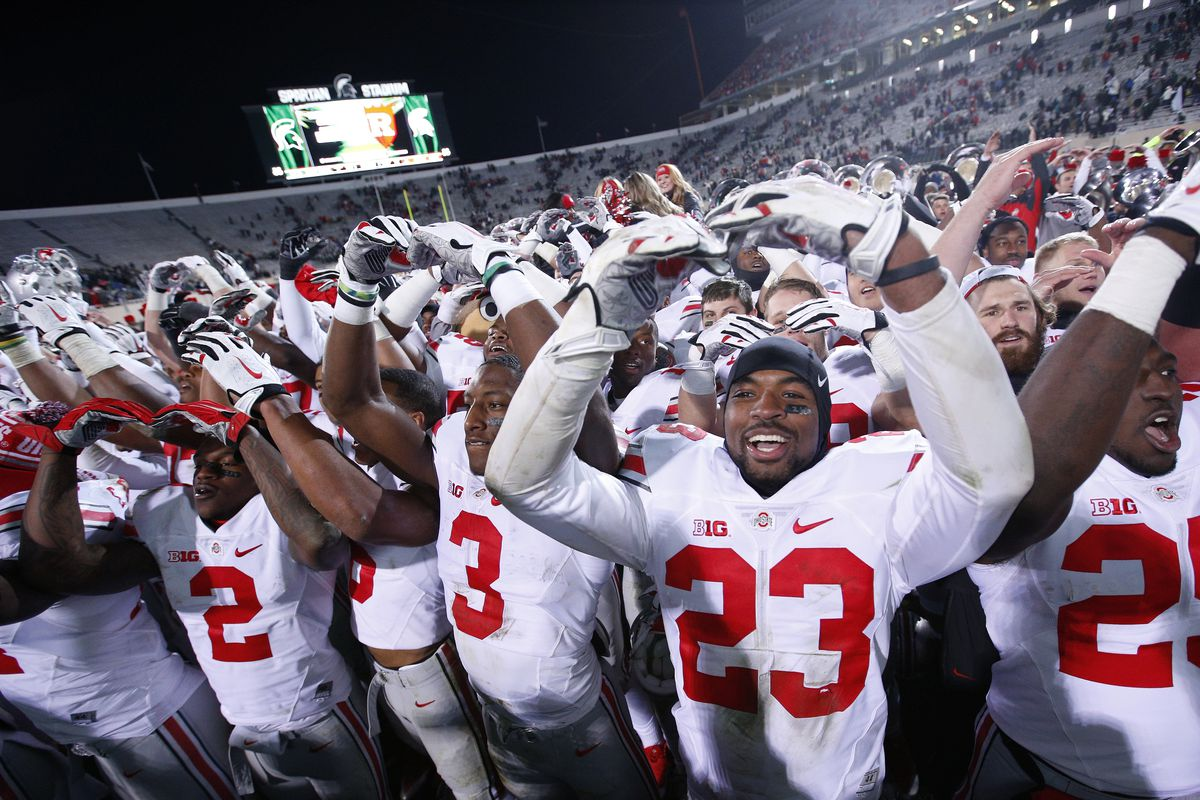 Ohio State got the big win they needed to stay alive in the College Football Playoff race.