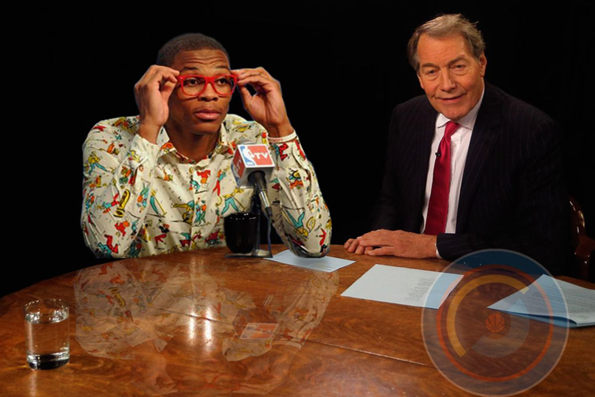 Westbrook doesn't hate the media, he just prefers high-brow like Charlie Rose or WTLC -WBB