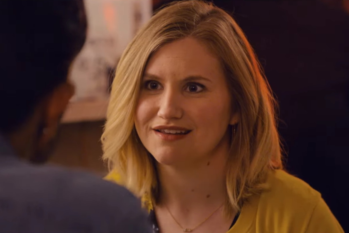 Jillian Bell smiles while playing the starring role in Brittany Runs a Marathon.