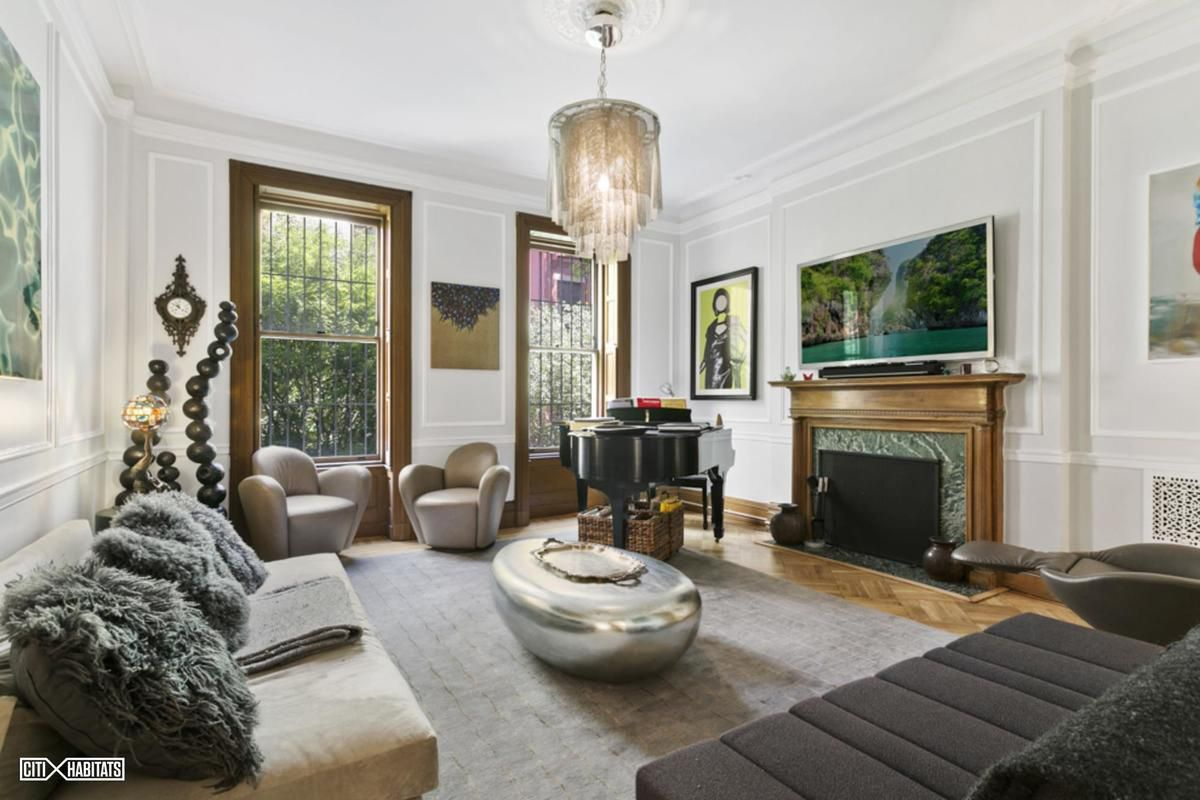 After sale lovely upper west side townhouse returns as for Upper west side townhouse for sale