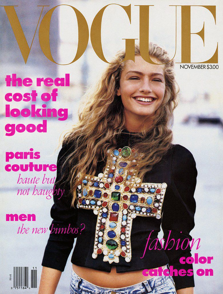 faba8fdb749 The December 1988 cover of Vogue