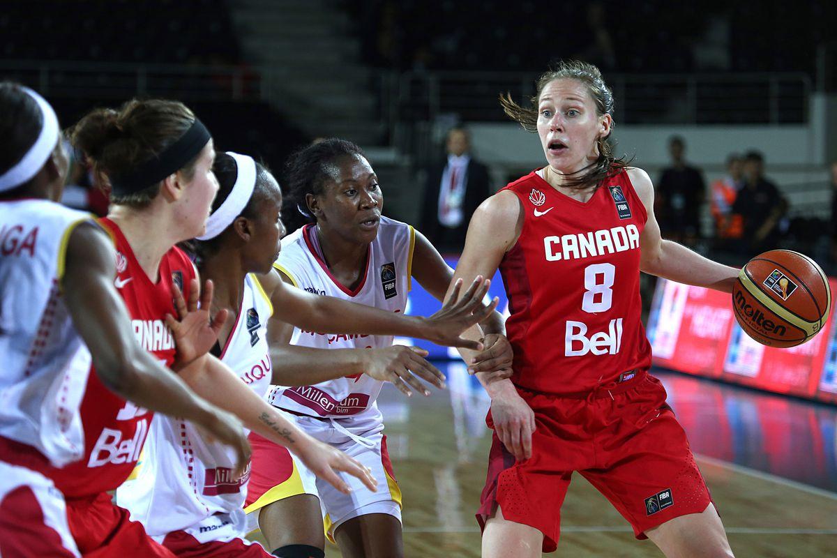 Kim Gaucher led Team Canada to a win over Mozambique.