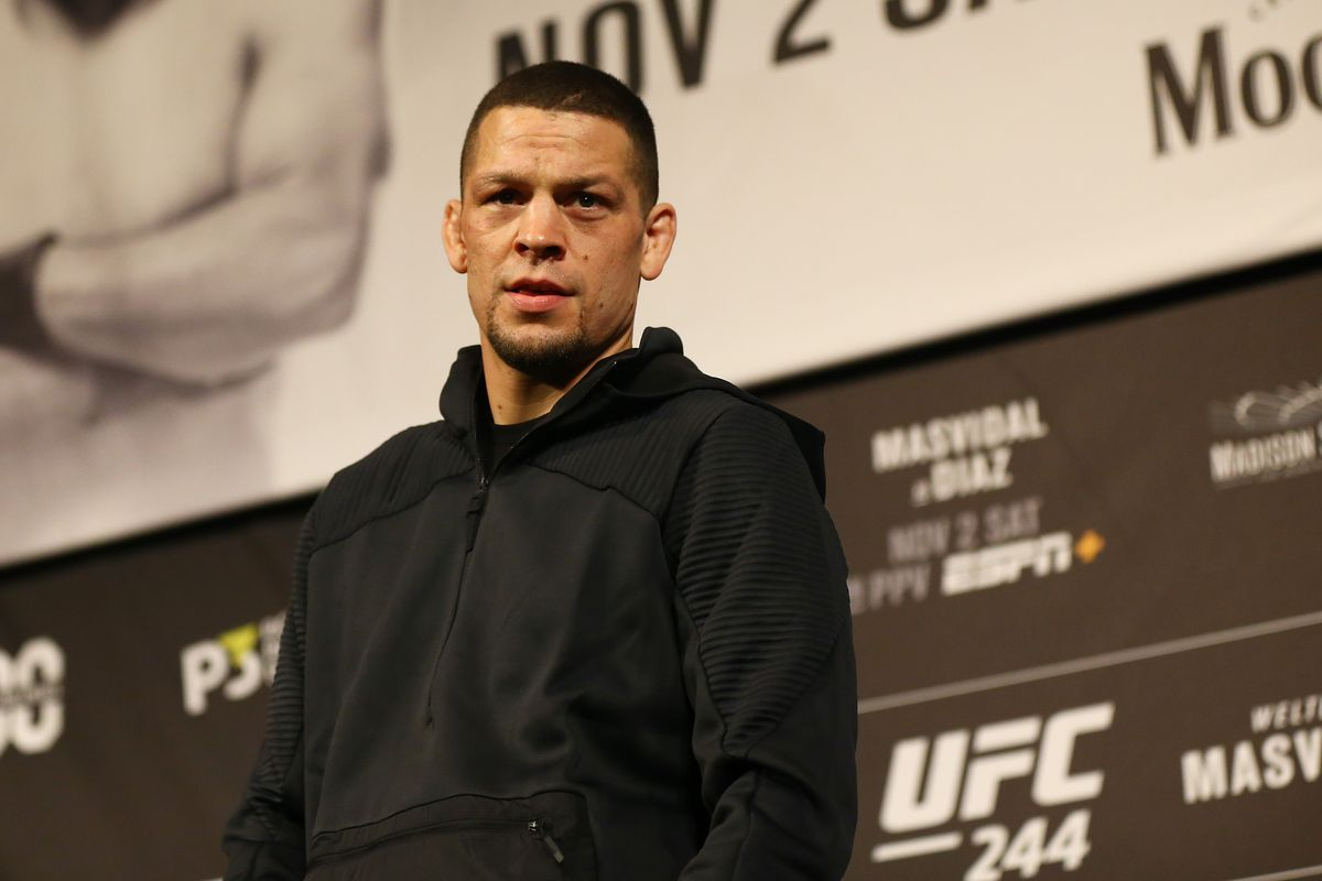 Nate Diaz responds to Francis Ngannou, who's been disgruntled about his current salary.