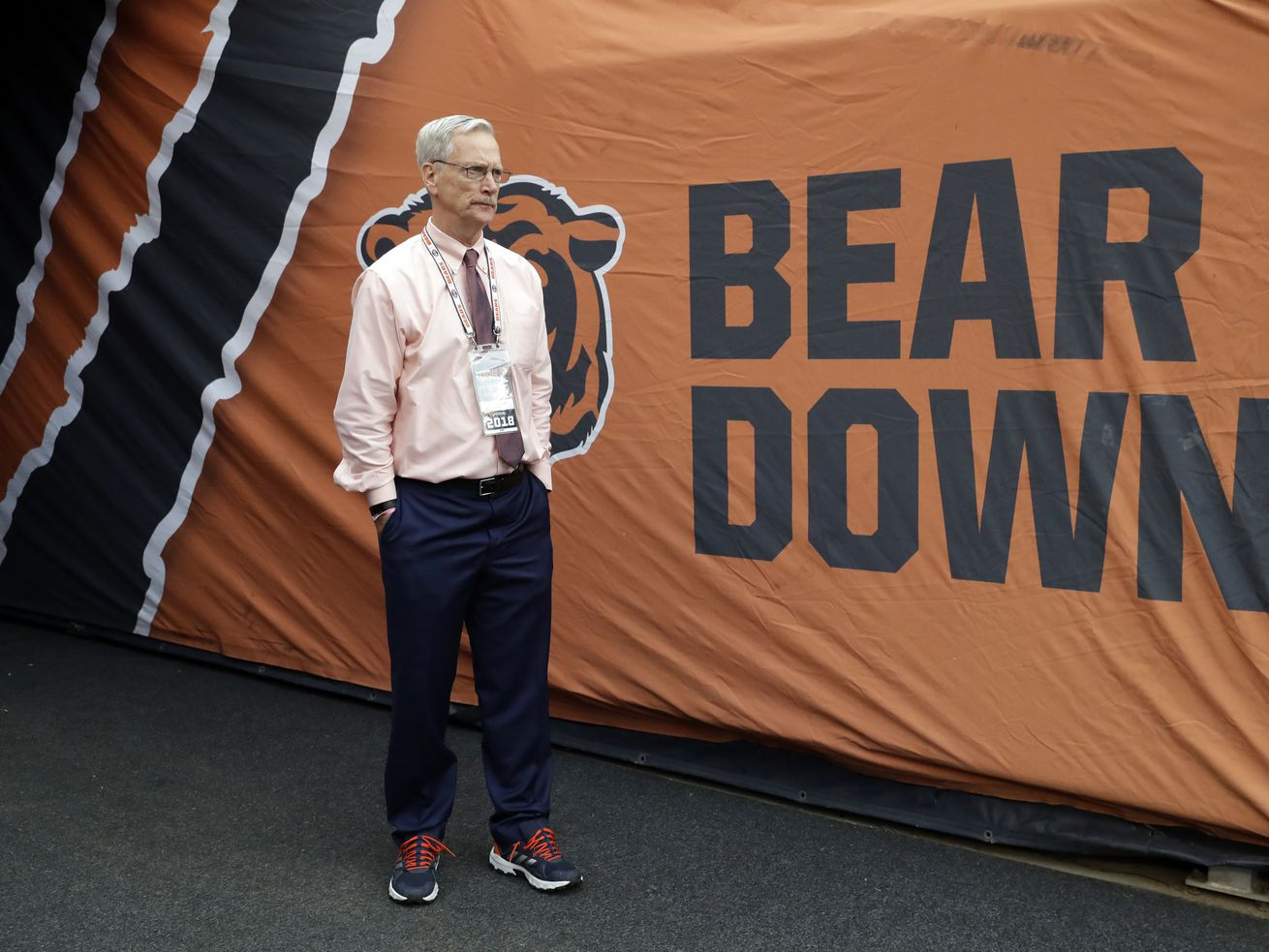 It's time for Bears chairman George McCaskey to start holding people responsible for the team's performance.
