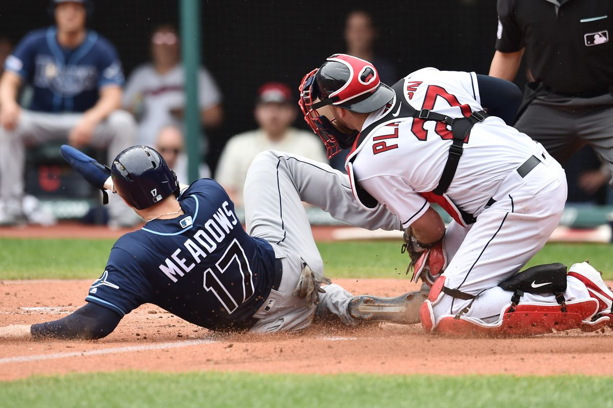 16713538 Indians drop series to Tampa Bay Rays in a rainy 6-3 defeat - Let's ...