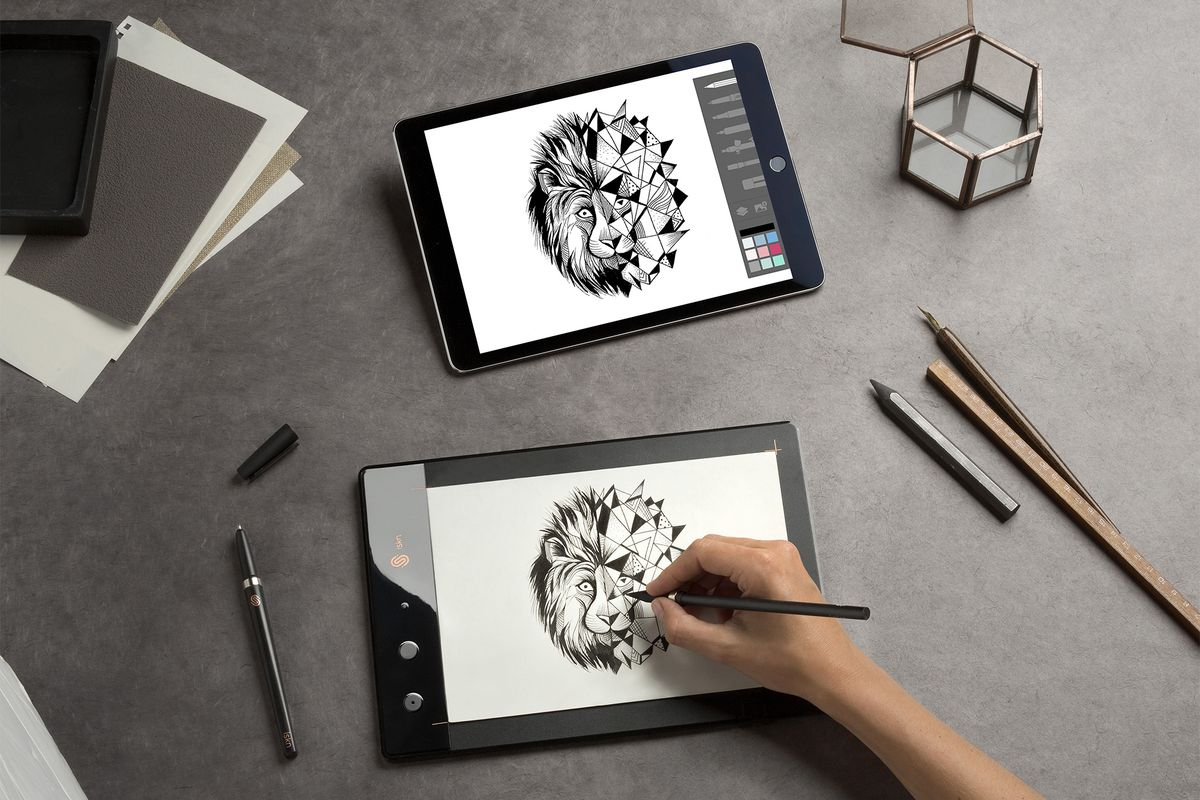 Iskn Slate Digitizes Your Paper Doodles In Real Time Using