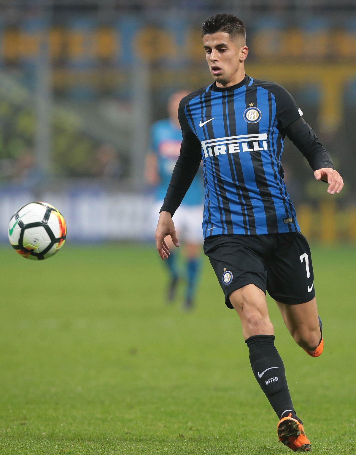 Fc Internazionale V Ssc Napoli Serie A Joao Cancelo