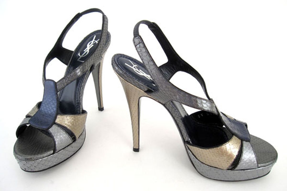 These YSL heels will be making the cross-country trip to the NYC sale