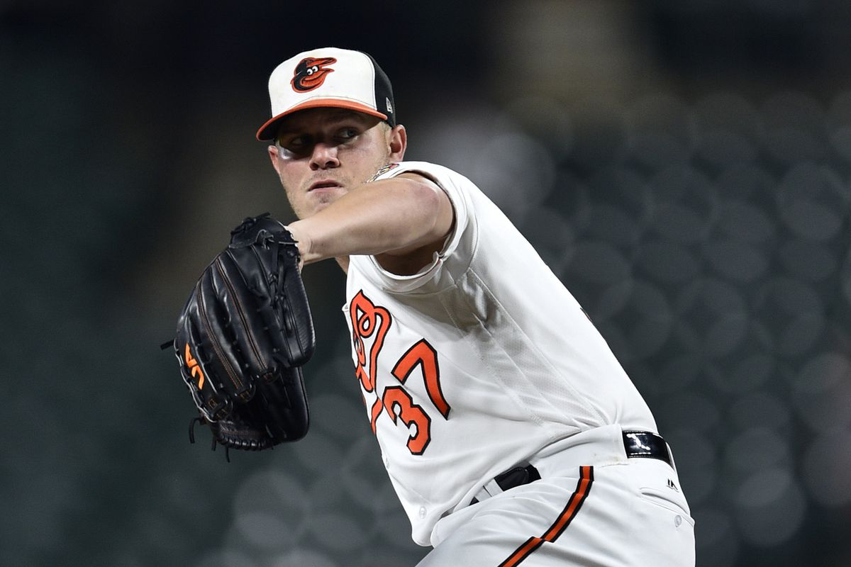 Mar 16, 2015; Clearwater, FL, USA; Baltimore Orioles starting pitcher Dylan