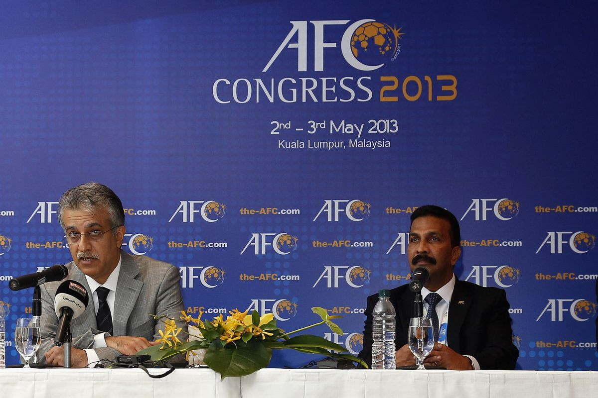 Closest thing to a picture of AFC soccer, a congress!
