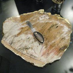 RabLabs calcedonia gold cheese board, $425