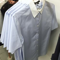 Yune Ho button down blouse, $175 (was $297)