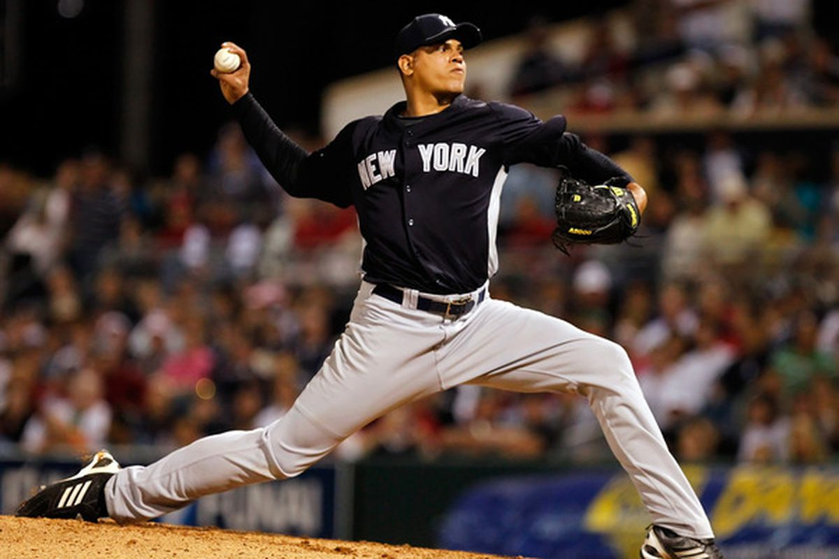 Let's once again use this tired picture of Dellin Betances. I apologize in advance, the options in the system are very slim.
