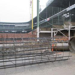 View at the left-field corner on Waveland