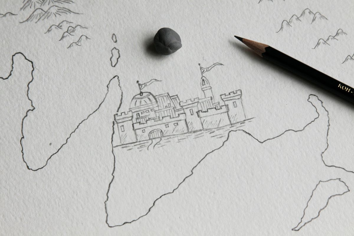Learn to draw world maps from one of D&D's best
