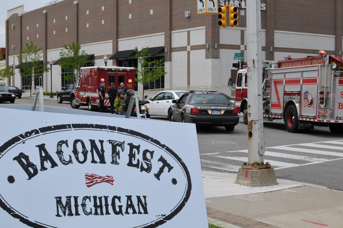 Baconfest Michigan.