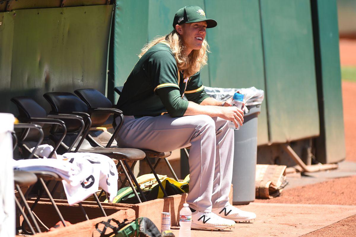 MLB: JUL 12 Athletics Summer Camp