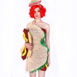 """Taco, <a href=""""http://patriciafield.com/collections/halloween-costumes/products/taco-dress"""">$68</a>"""