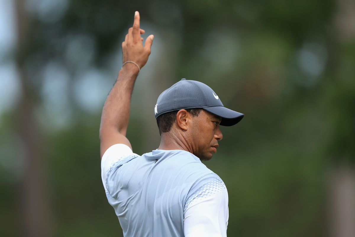 Tiger at THE PLAYERS