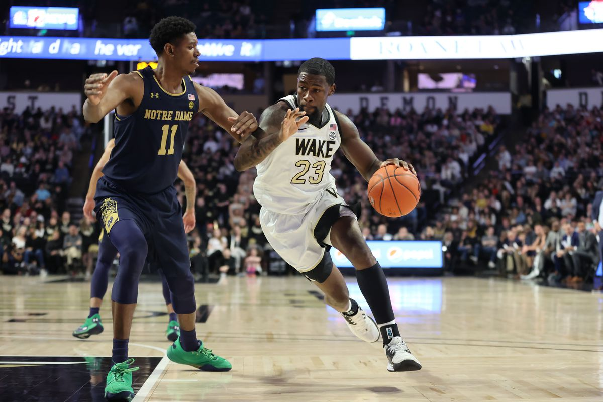 COLLEGE BASKETBALL: FEB 29 Notre Dame at Wake Forest
