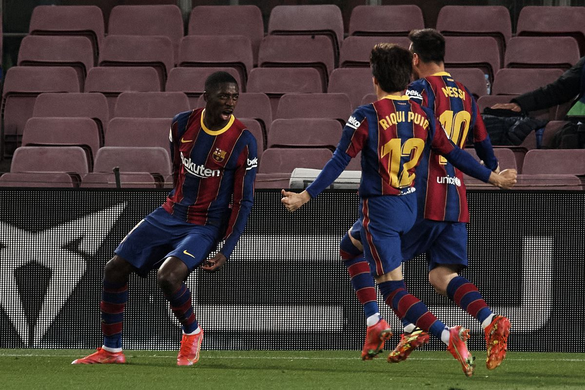 Barcelona vs Real Valladolid, La Liga: Final Score 1-0, Ousmane Dembélé  wins it late as Barça win tough home game - Barca Blaugranes