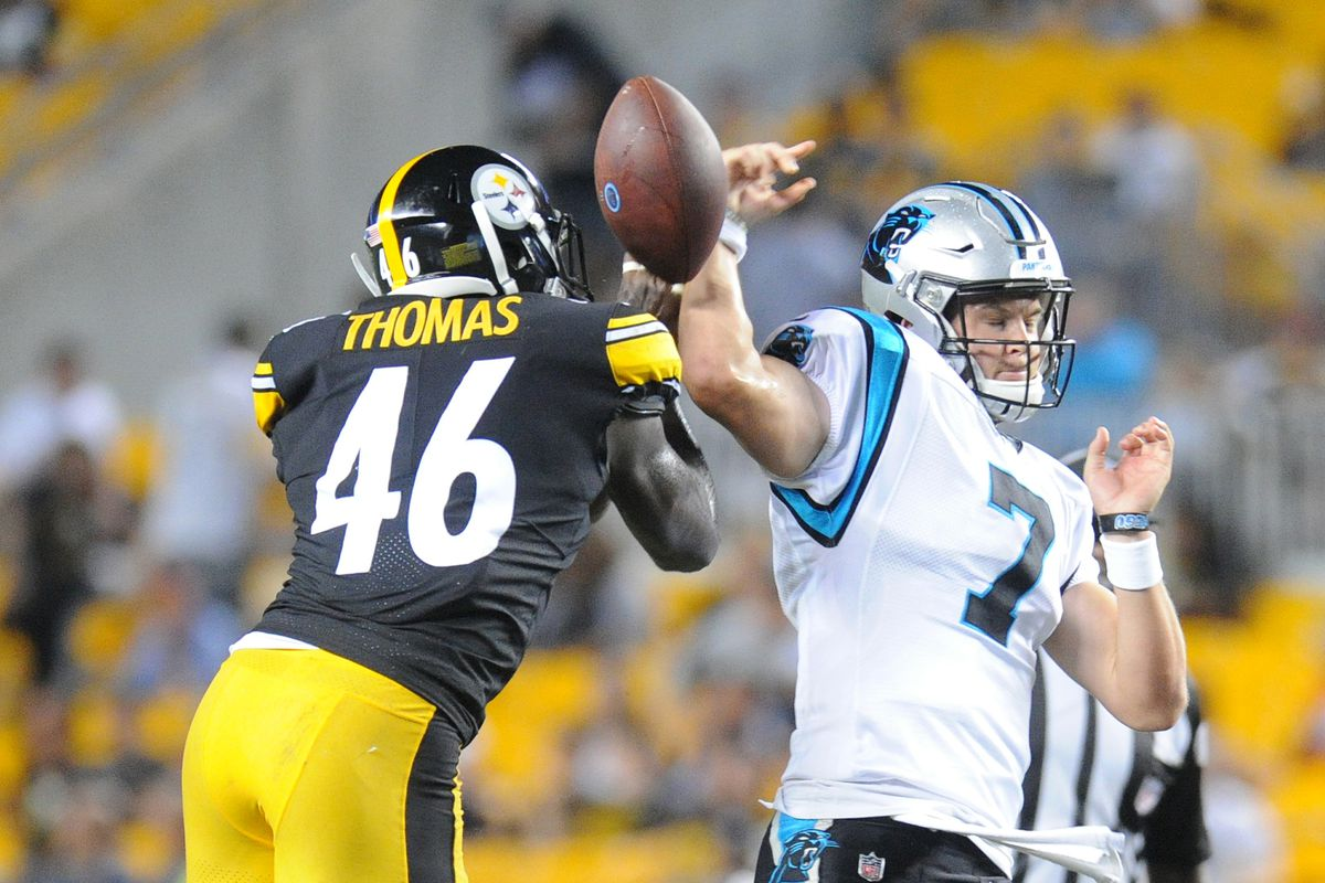 Report Card  Grading the Steelers  preseason win over the Panthers - Behind  the Steel Curtain c652cb6d8