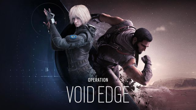 key art for the beginning of Rainbow Six Siege Year 5 Season 1, Operation Void Edge